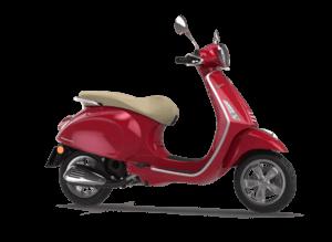 Vespa Primavera 50 2T Red