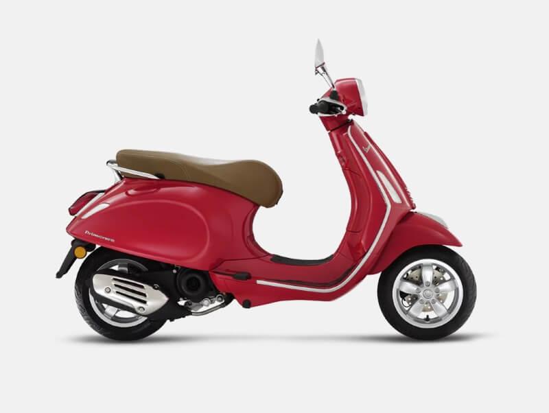 Vespa Primavera 50cc 4T Rosso Dragon