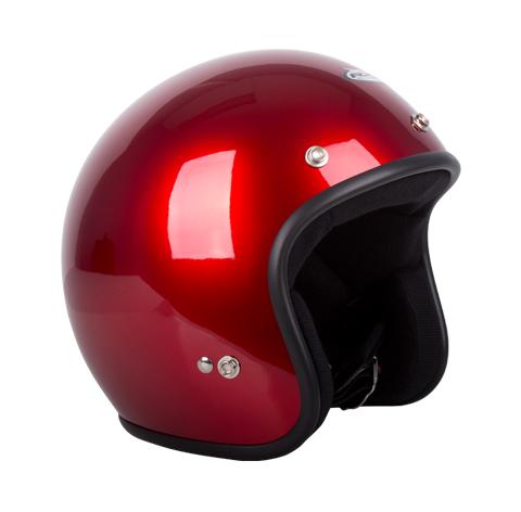 RXT A611C Challenger Open Face Helmet Candy Red