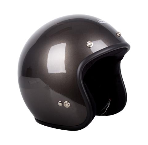 RXT A611C Challenger Open Face Helmet Gun Metal