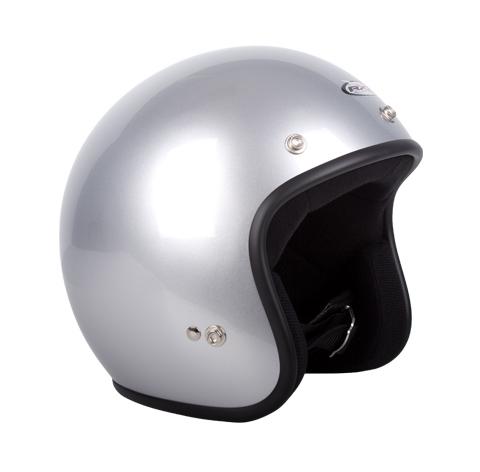 RXT A611C Challenger Open Face Helmet Silver