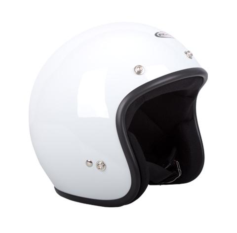 RXT A611C Challenger Open Face Helmet White