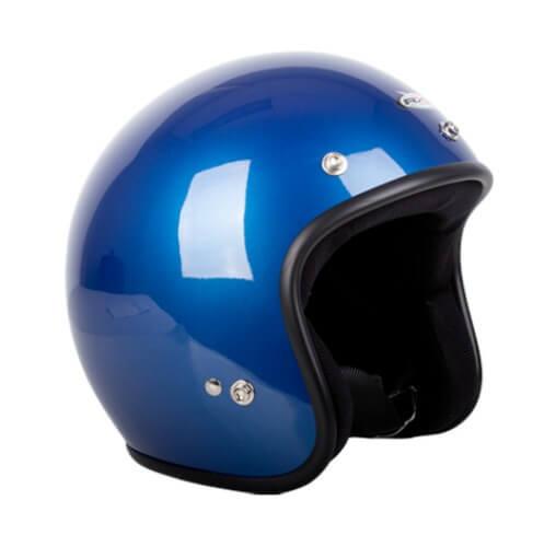 RXT A611C Challenger Open Face Helmet Candy Blue