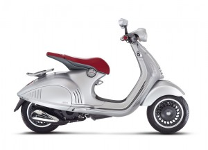 Vespa 946 Bellissima - Grey Metallic