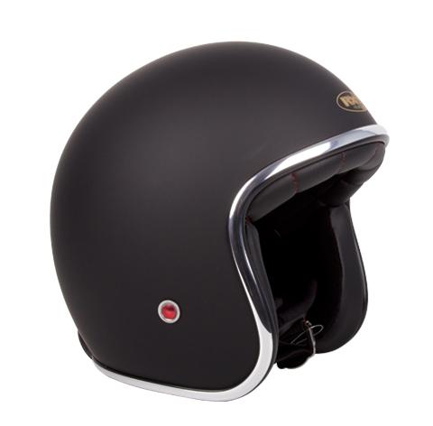 RXT A611C Classic Open Face Helmet Matte Black