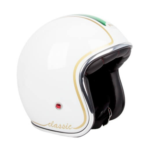 RXT A611C Classic Open Face Helmet White Italy