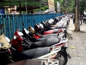Scooter Parking Hanoi