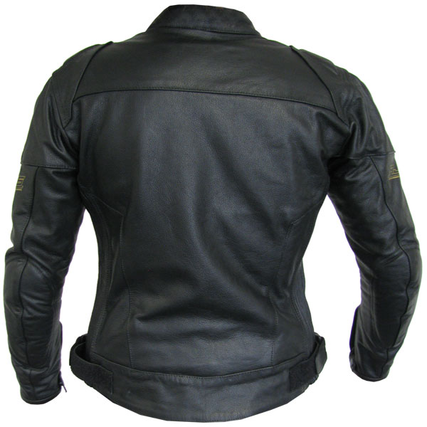 Rjays Sport II Black Leather Jacket - Ladies