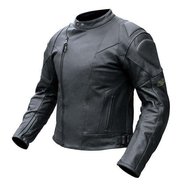 Rjays Sport II Black Leather Jacket - Mens