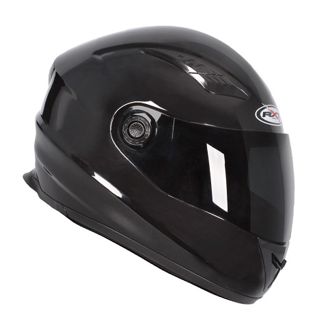 RXT A503 Viper Fibreglass Road Helmet Gloss Black