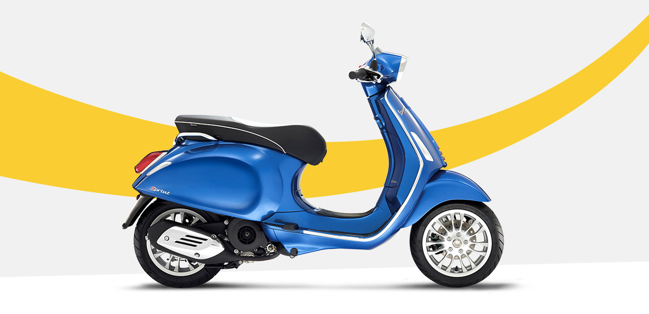 vespa sprint scooter style noosa motorcycles. Black Bedroom Furniture Sets. Home Design Ideas