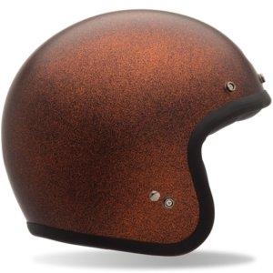 BELL Custom 500 Helmet Matte Orange Metallic