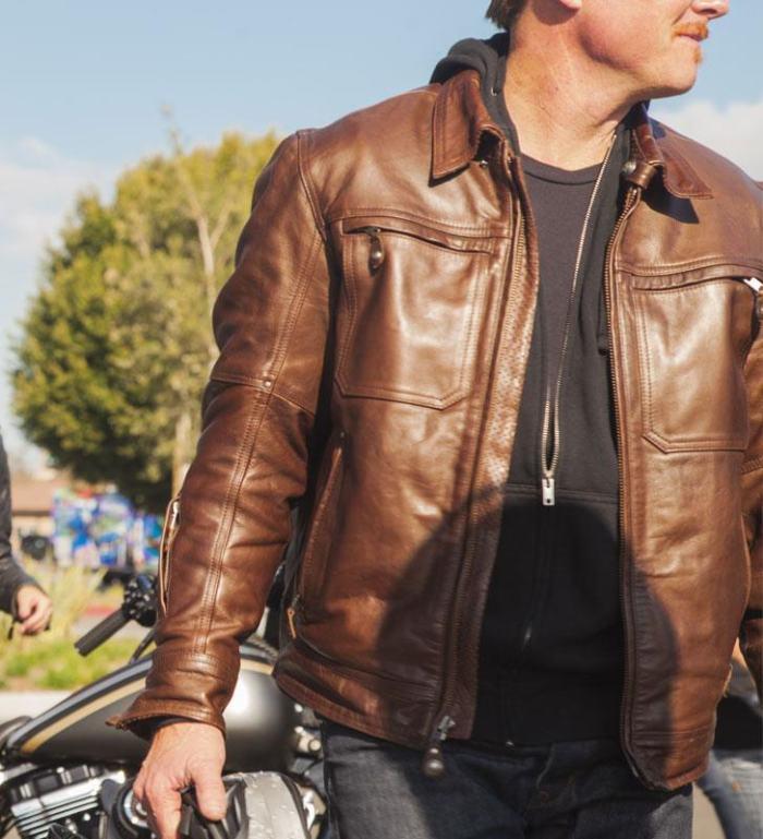 RSD Roland Sands Design City Leather Jacket