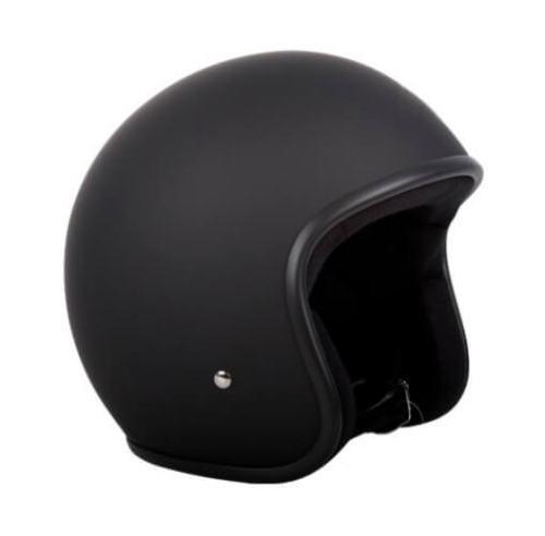 RXT A611C Low Rider Helmet Matte Black No Studs