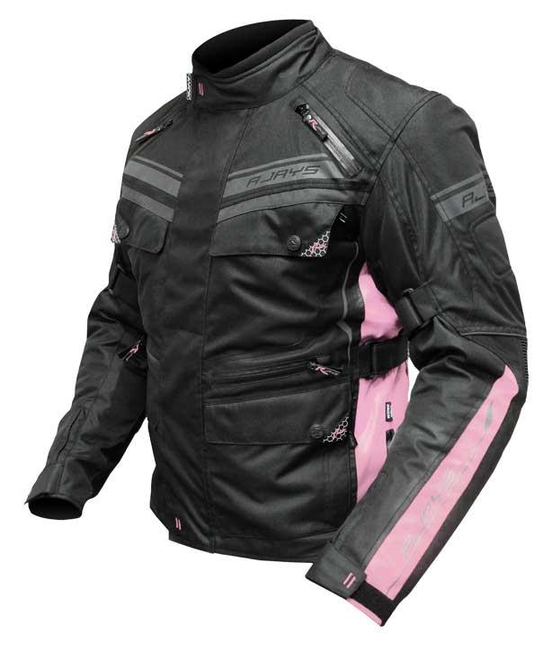 RJays Voyager IV Jacket Ladies - Black/Pink