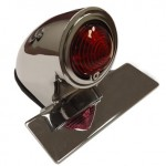 EMGO Sparto 50s Chopper Chrome Tail Light