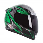 RXT A705 Sabre Road Helmet Green