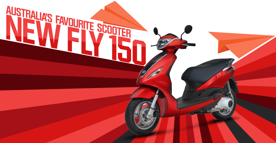 Piaggio Fly 150 IE – Scooter Style & Noosa Motorcycles
