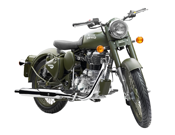 Royal Enfield Classic 500 Battle Green EFI