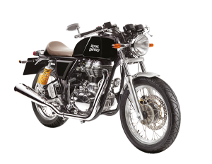Royal Enfield BlackGT-site-frontside