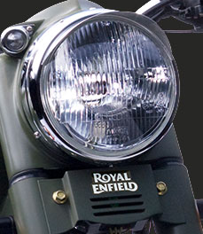 Royal Enfield Classic Battle Greenbattle-green-headlamp-special-feature_motorcycle