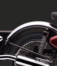 Royal Enfield Classic classic-chrome_rear-mudguard-special-feature_motorcycle