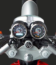 Royal Enfield continentalgt_cluster