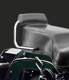 Royal Enfield new-bullet-500-green-motorcycle-backrest-special-feature