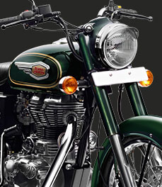 Royal Enfield new-bullet-500-motorcycle-green-color-special-feature