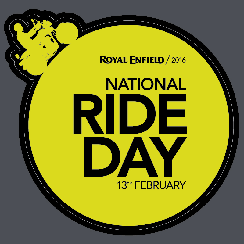 Royal Enfield National Ride Day 13 Feb 2016