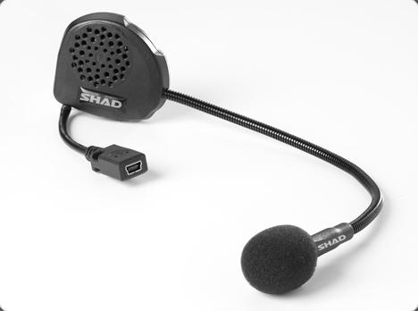 Bluetooth Intercom - SHAD Hands Free Kit BC01