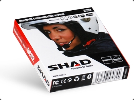 SHAD Hands Free Kit BC02