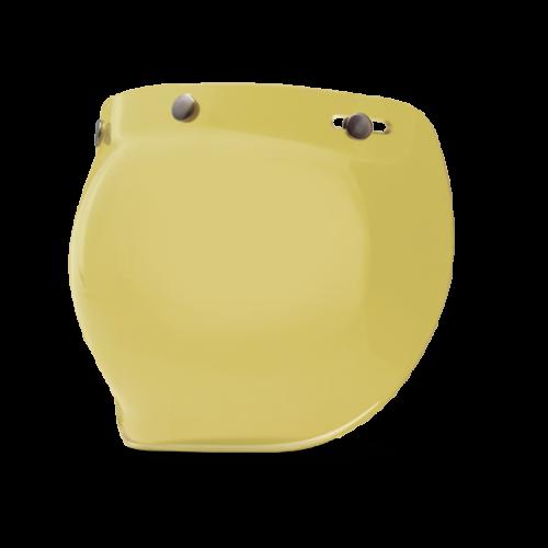 BELL Custom 500 Bubble Shield Yellow