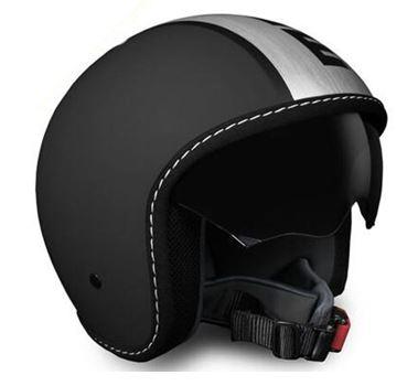MOMO Blade Frost Black Satin Helmet