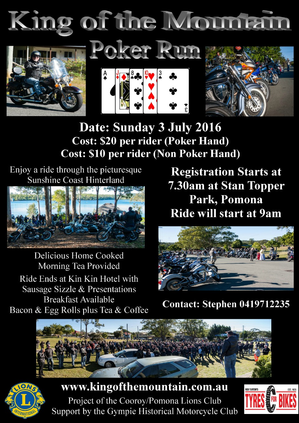 Pomona King of the Mountain Poker Run
