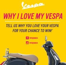 Love your Vespa
