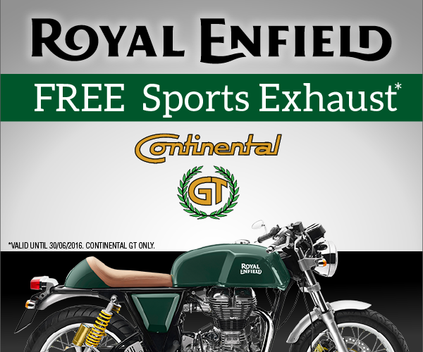 Free Royal Enfield Sports Exhaust