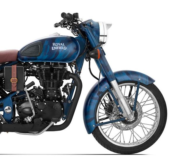 Royal Enfield Classic 500 EFI Squadron Blue Despatch Limited Edition
