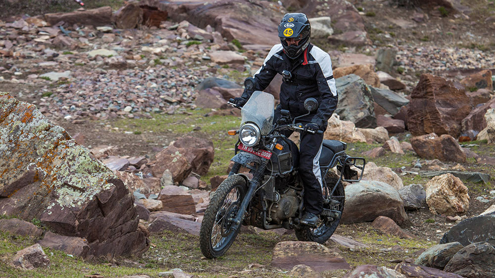 Royal Enfield Himalayan Ground Clearance