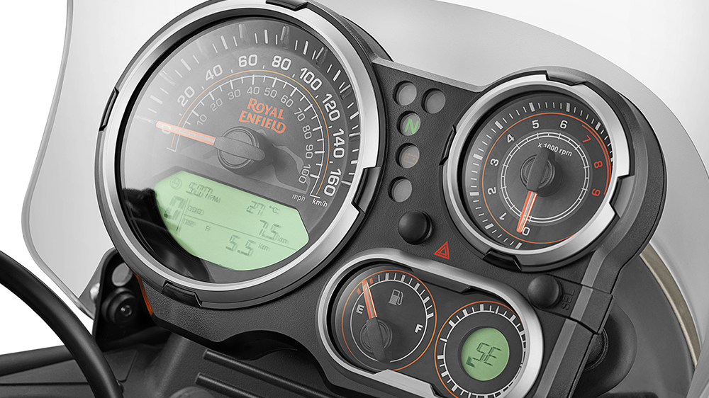 Royal Enfield Himalayan Instrument Cluster