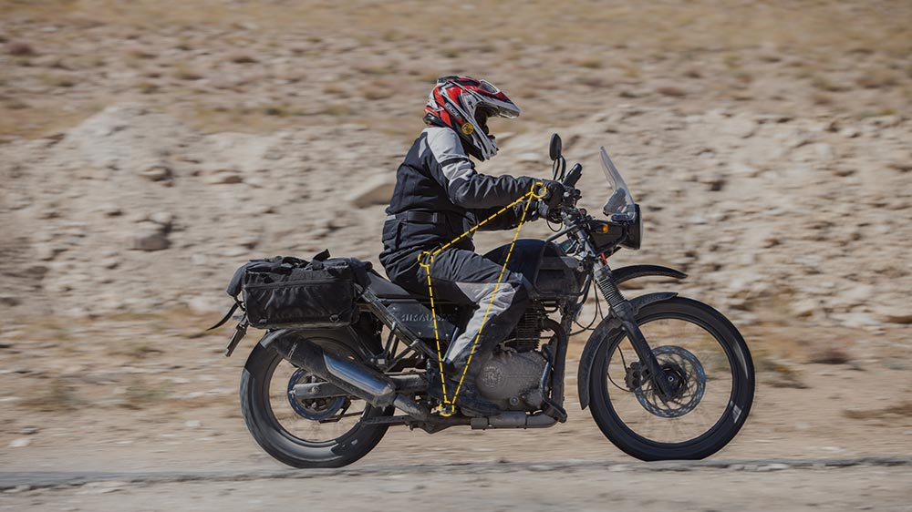 Royal Enfield Himalayan Ride Posture