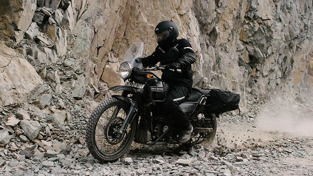 Royal Enfield Himalayan Suspension