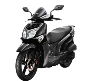 SYM HD2 200i Black