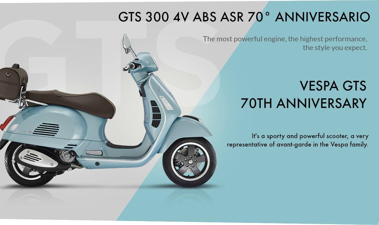 Vespa GTS 70th Anniversary