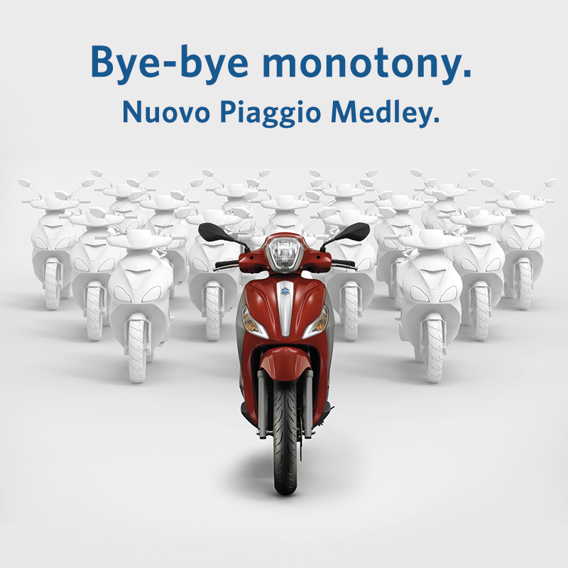New Piaggio Medley