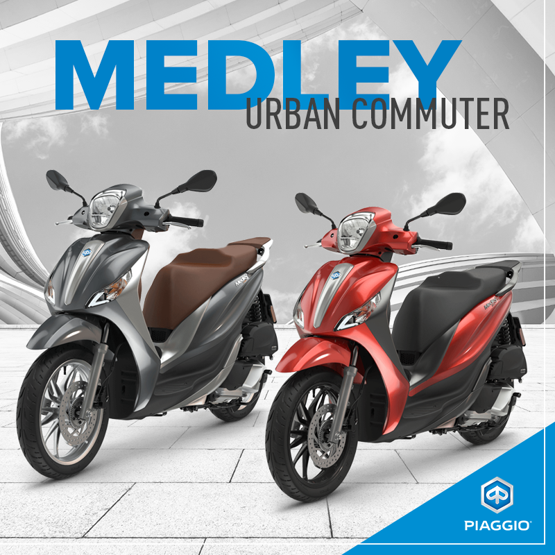 piaggio medley 150 | easy to handle and accessible