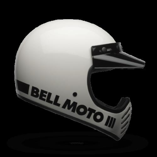 BELL Moto-3 Helmet White