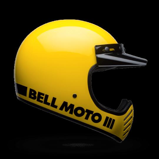 BELL Moto-3 Helmet Yellow