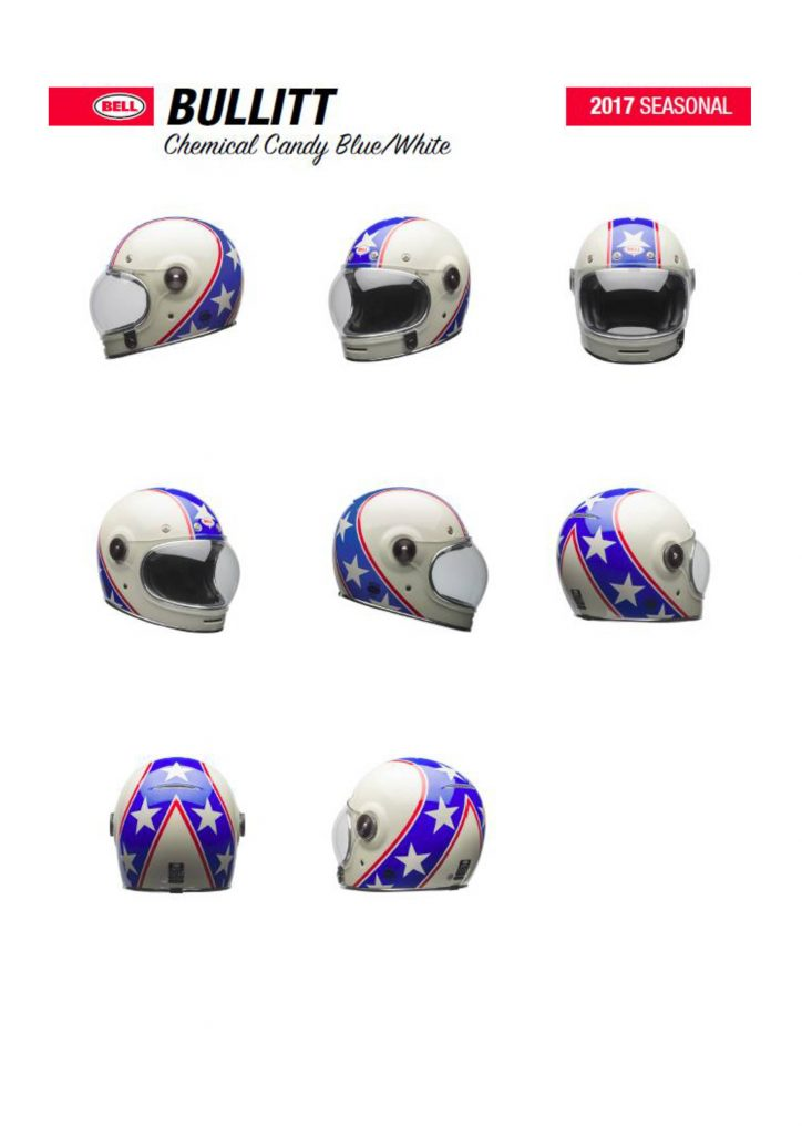 New Bell Helmets for 2017