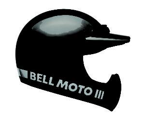 Bell Moto-3 Black Classic